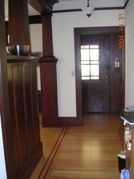 House Foyer Quiz : First floor of baum house